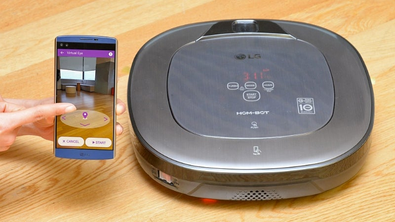Snap A Photo In Your Home To Tell LG's New Robovac Where To Clean