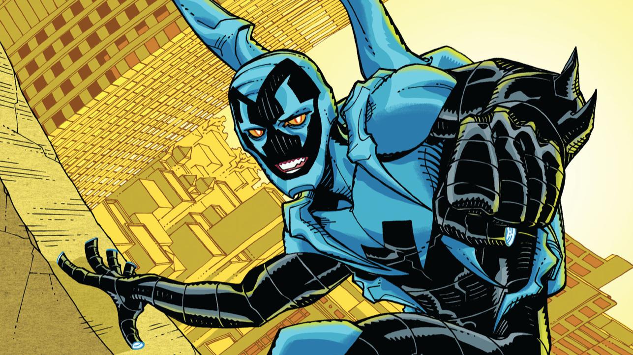 Report: DC's Next Big Screen Superhero Movie Will StarBlue BeetleJaime Reyes