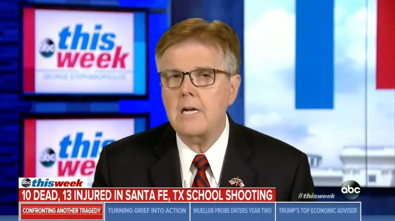 Texas Official Who Blamed School Shooting On Doors Now Also Blames Facebook And Video Games