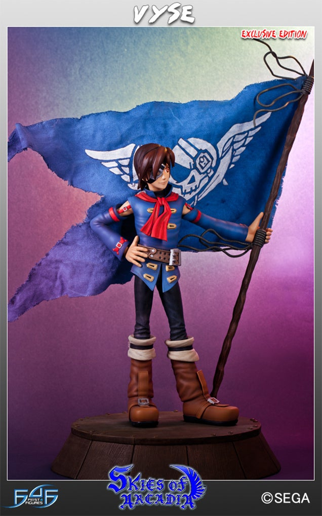 The Hero Of Skies Of Arcadia Gets The Statue He Deserves