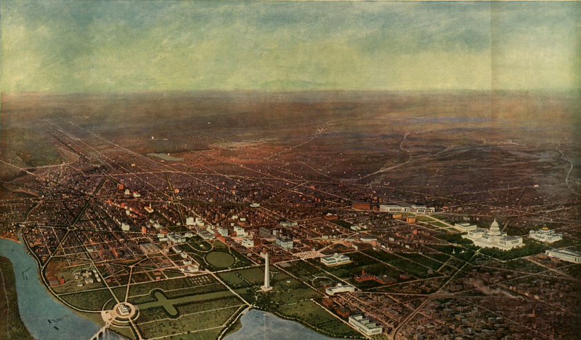 13 Gorgeous Panoramic Maps Drawn Long Before Satellites Even Existed