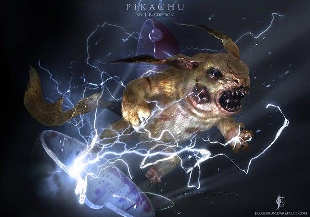 Pokémon As Undead Monstrosities