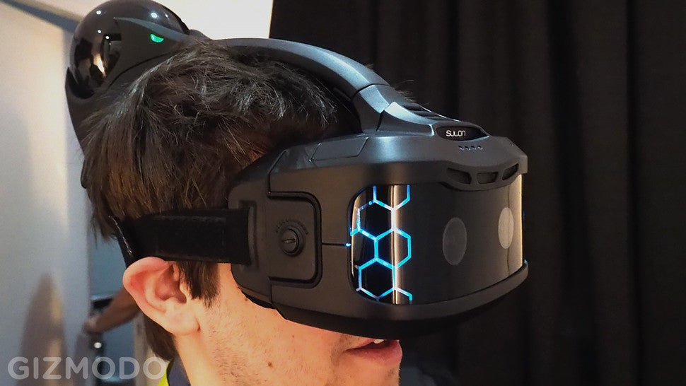 I Fought a Dragon In a Head-Mounted Holodeck