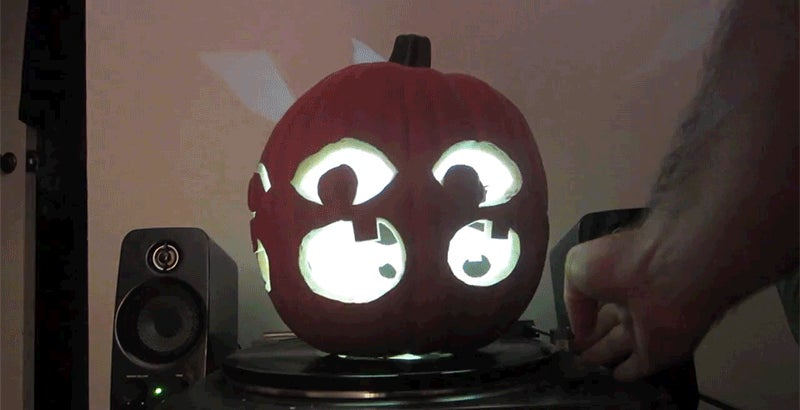 How to Carve an Animated Pumpkin