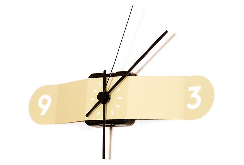 Skip the Nail Holes In Your Wall With This Sticker Clock