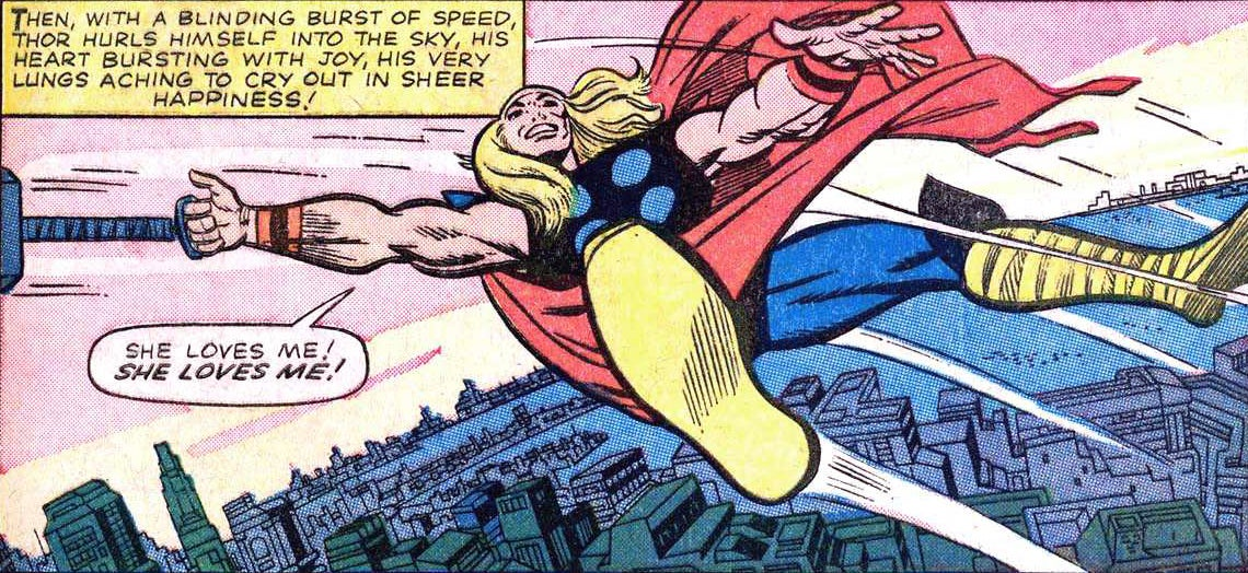 How Thor Flies, According to Science
