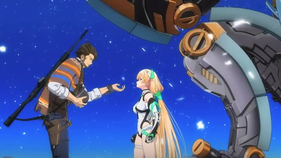 Expelled From Paradise is Ghost in the Shell Meets Trigun Meets Gundam