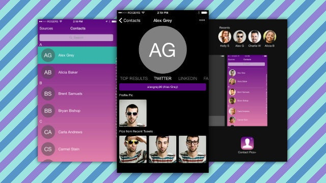 Contacts Pics+ Finds And Adds Pictures To iOS Contacts