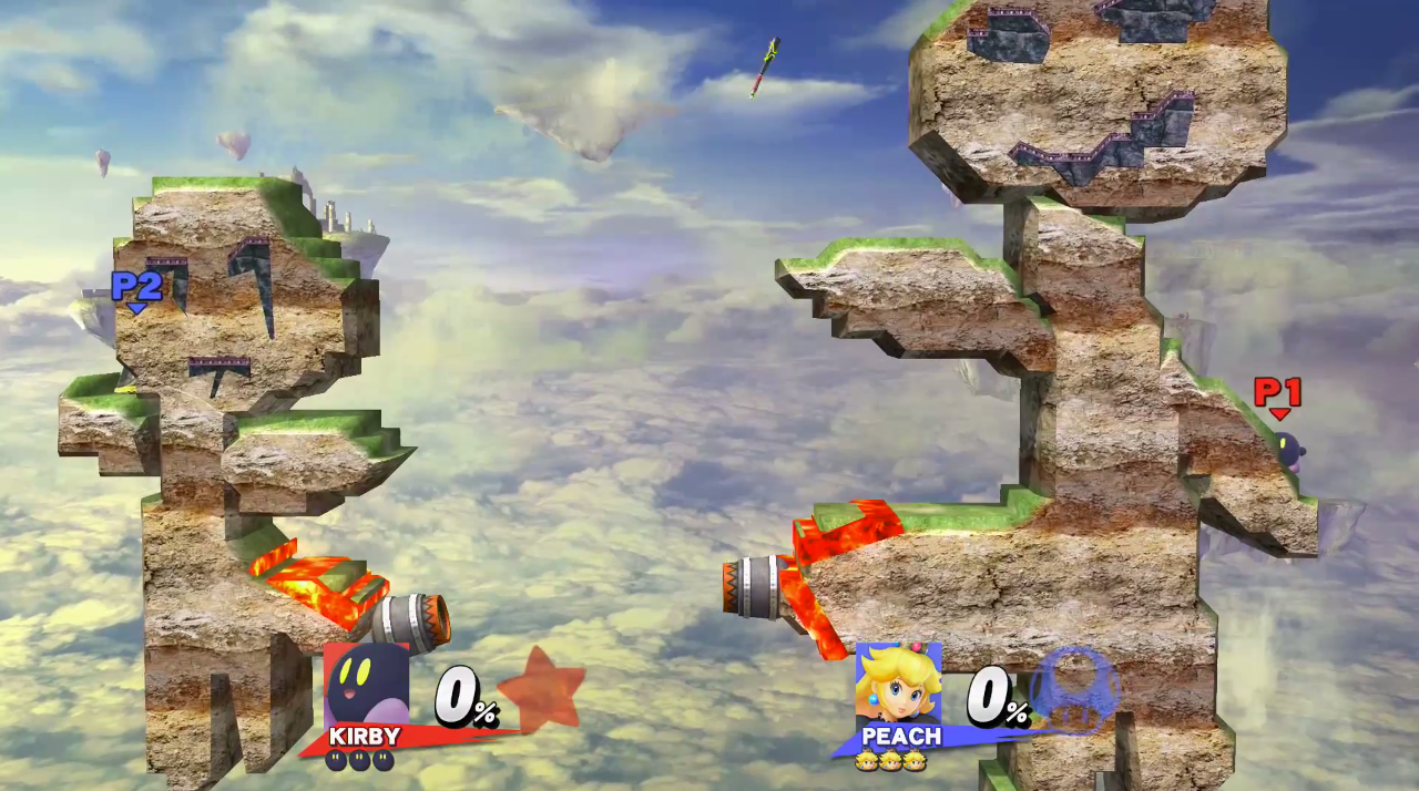 The NSFW Stages Of Super Smash Bros.