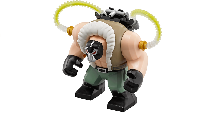 imaginext helicopter batman with The Lego Batman Movies Bane Figure Is Totally Awesome on Imaginext DisneyPixar IMonsters UniversityI Scare Factory in addition 22672 besides 34 also Vtech Go Go Smart Wheels Green Race Car besides Lego Dc Universe Super Heroes The Bat Vs Bane Tumbler Chase 76001 Revealed.