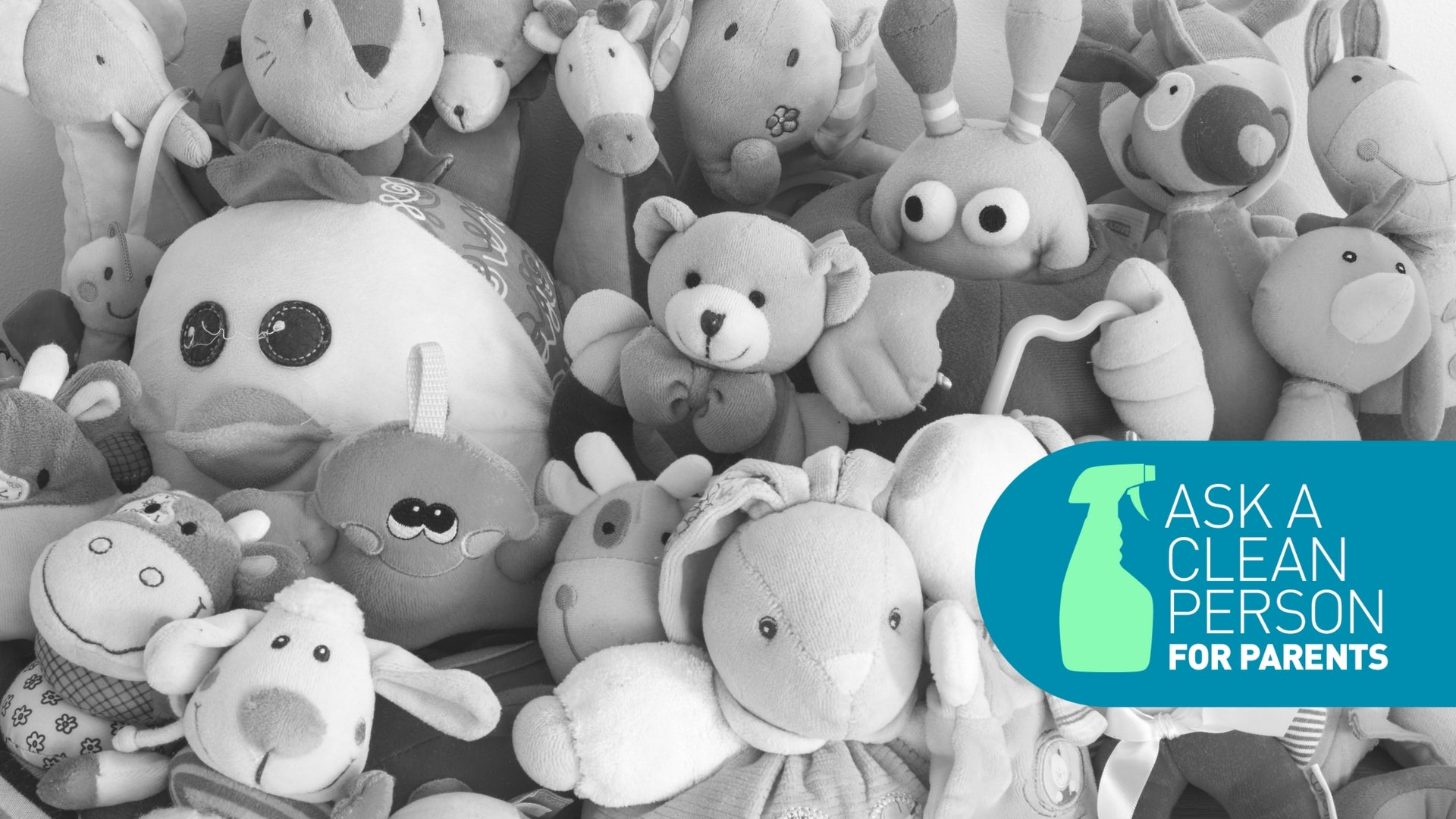 How To Wash Your Kid's Precious Stuffed Animals