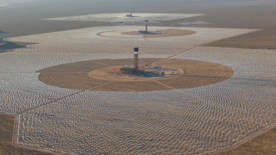 The World's Largest Solar Plant Just Torched Itself