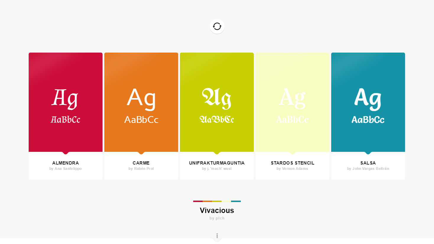 Palettab Shows You New Font And Colour Pairings Every Time You Open A New Tab