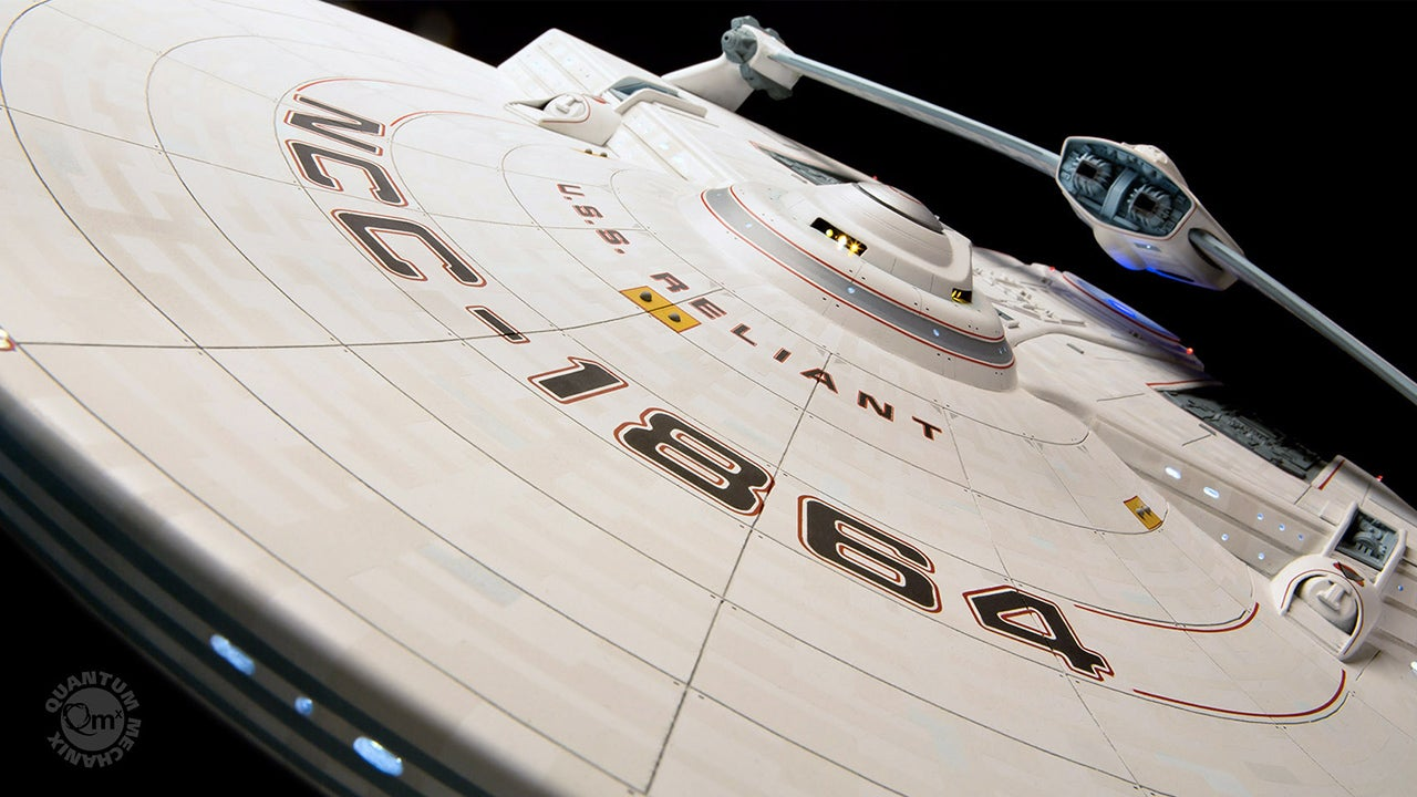 Your Collection Deserves this Screen-Accurate U.S.S. Reliant Replica