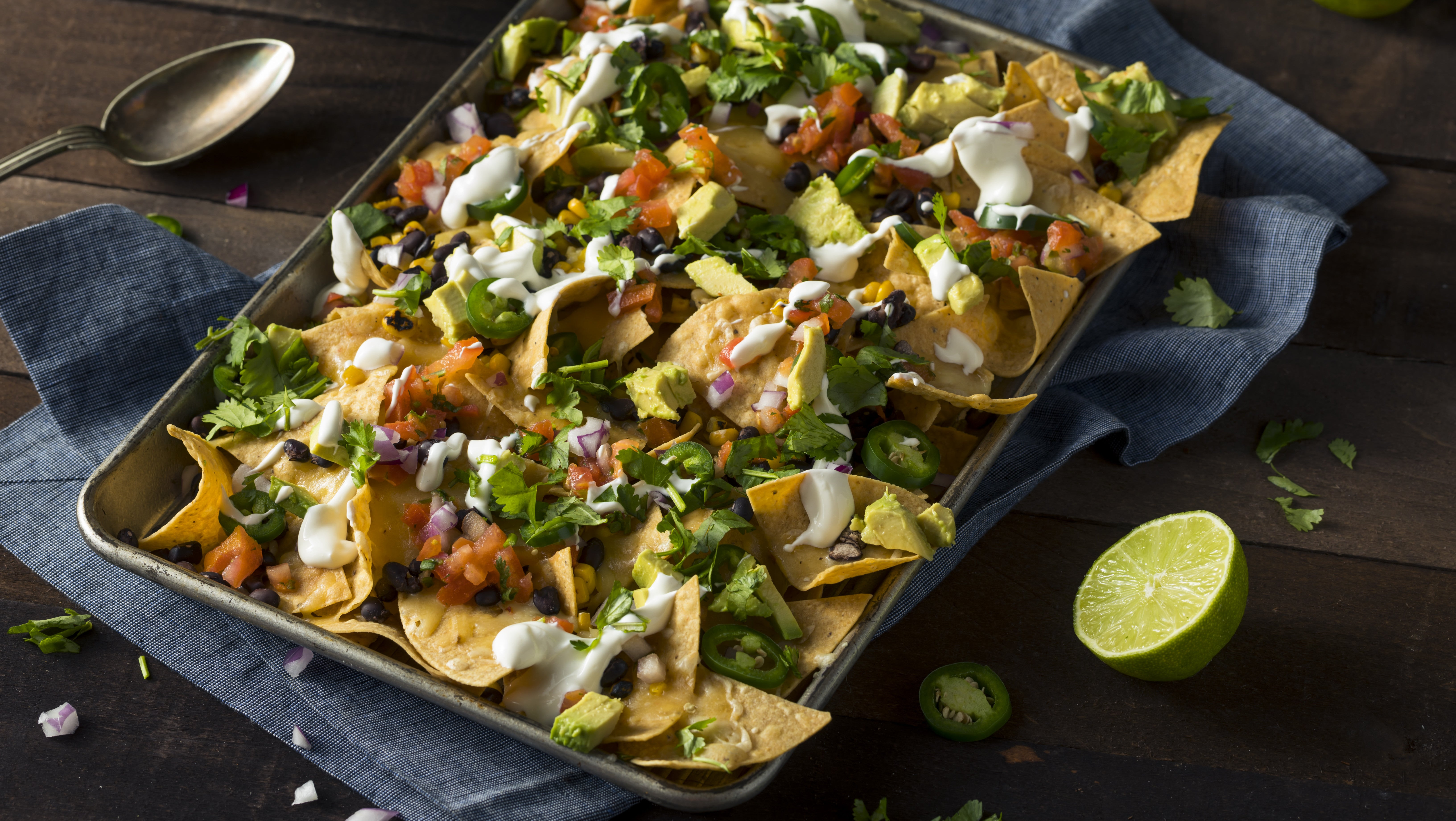 Pile Your Holiday Leftovers On Nachos