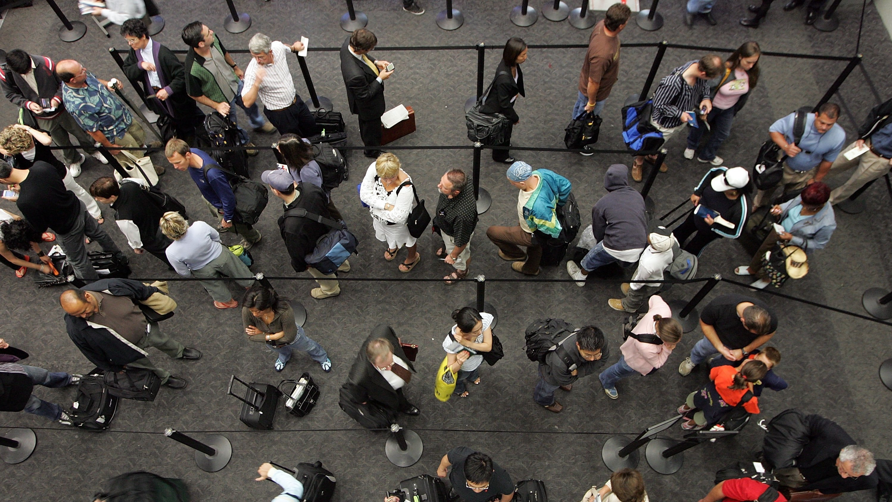 Make Sure Your Security Line Isn't Closed Before A Flight