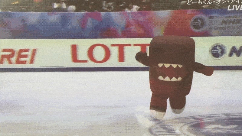 Domo-kun Has Fallen and Cannot Get Up