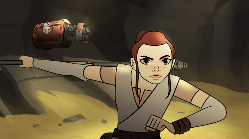 Women Of Star Wars Get Highlighted In New Series Of Animated Shorts