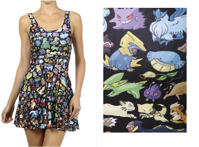 Colourful Pokémon Dress Lets You Wear 'Em All