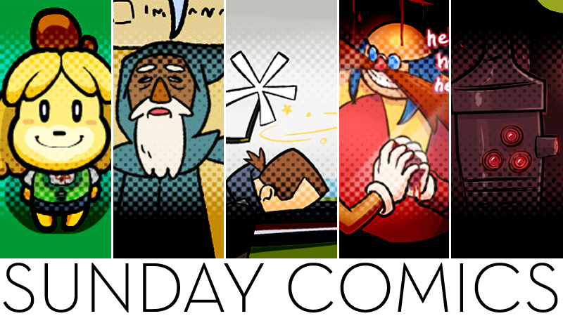 Sunday Comics: OW!