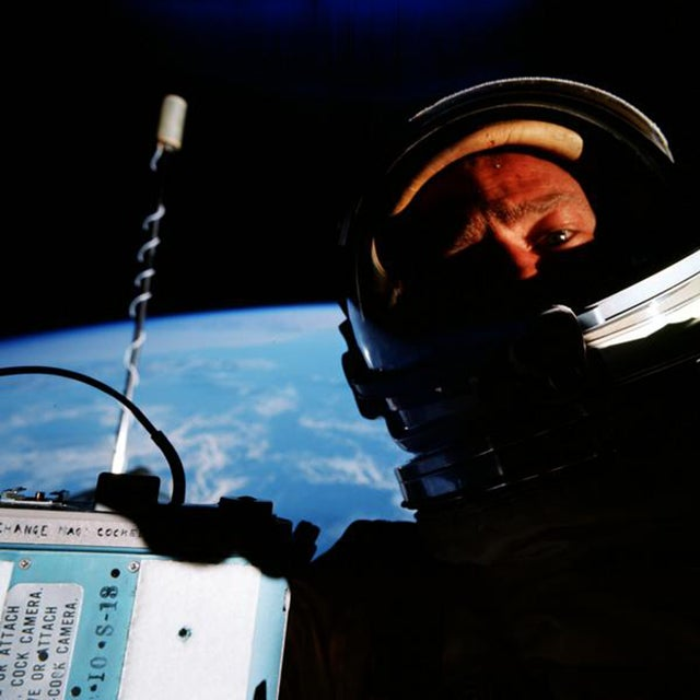 Buzz Aldrin: Second Man on the Moon, But First to Take a Space Selfie