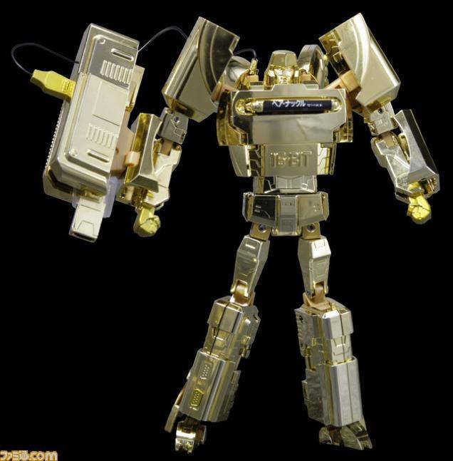 Golden Sega Genesis Transforms into Megatron