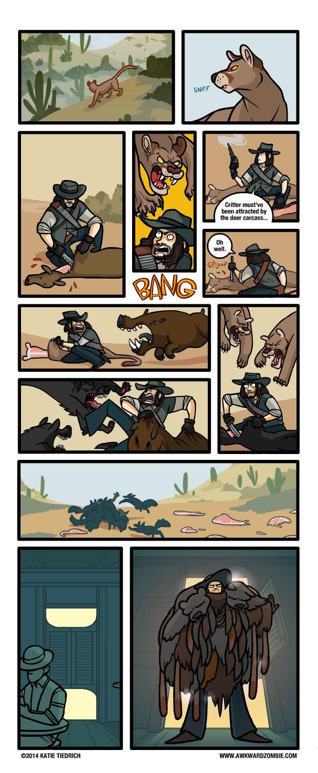 Sunday Comics: The Goat Hurler