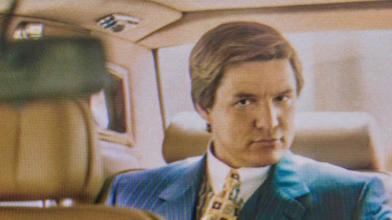 Wonder Woman 1984's Pedro Pascal Looks Like Straight-Up Wall Street Sleaze In This First Look