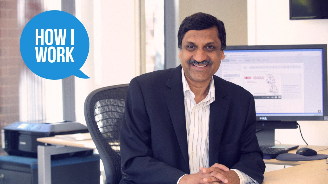 I'mAnant Agarwal, CEO Of edX, And This Is How I Work