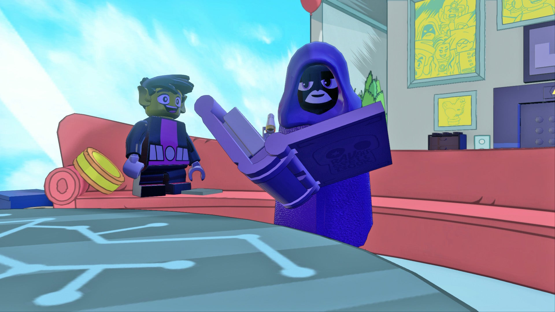 The powerpuff girls and teen titans go come to lego dimensions in teen titans go gets two sets a fun pack featuring starfire who is the fun and a team pack featuring beast boy and his hot magic mama not his actual voltagebd Images