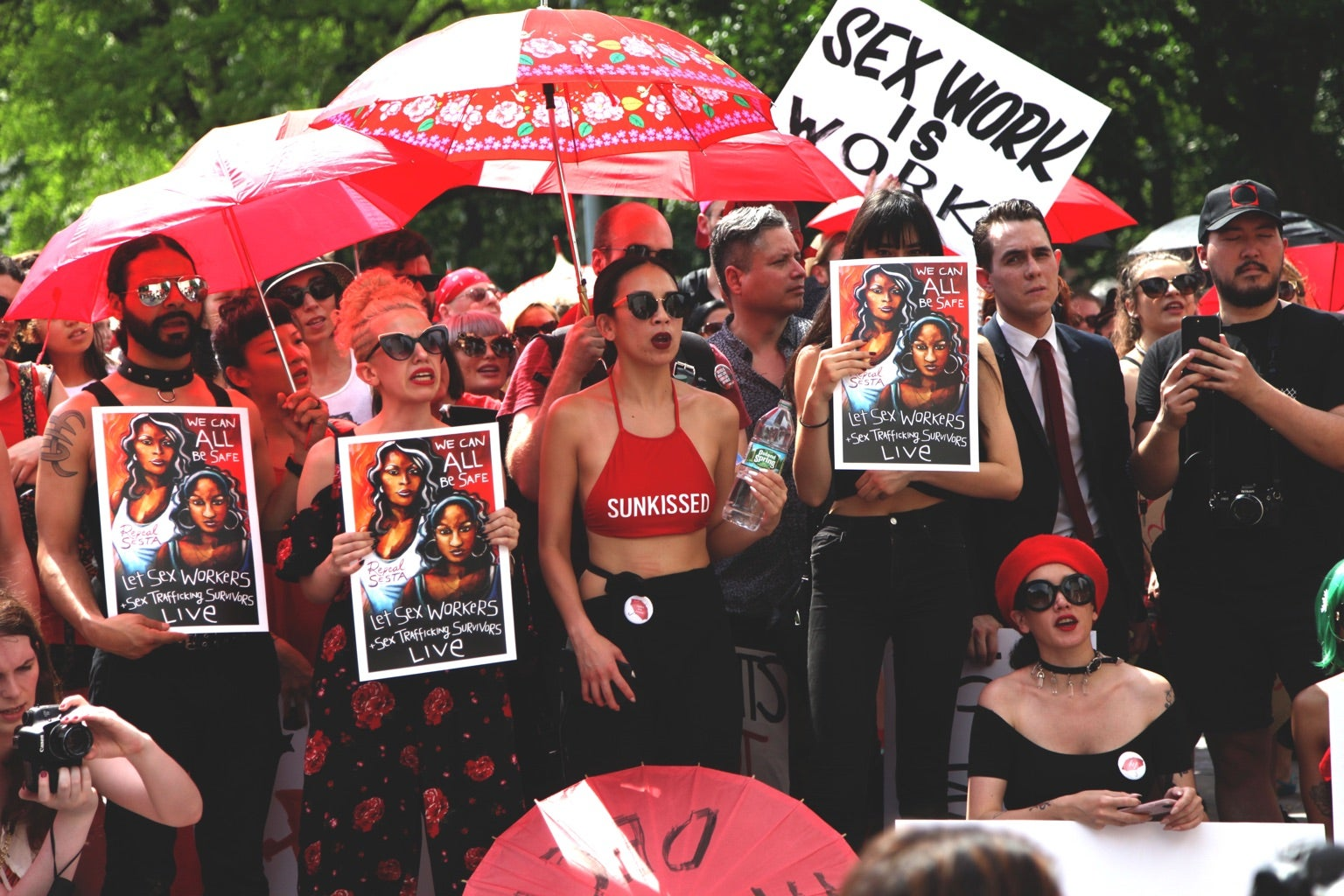 US Sex Workers Fight Back Against A Dangerous Law By Stepping Into The Spotlight