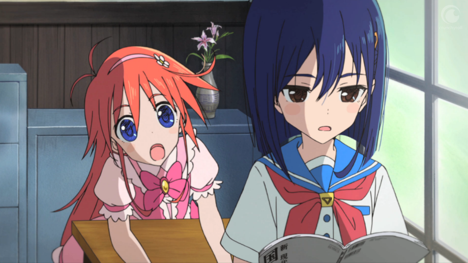 Flip Flappers Is A Tender Spin On Magical Girl Anime