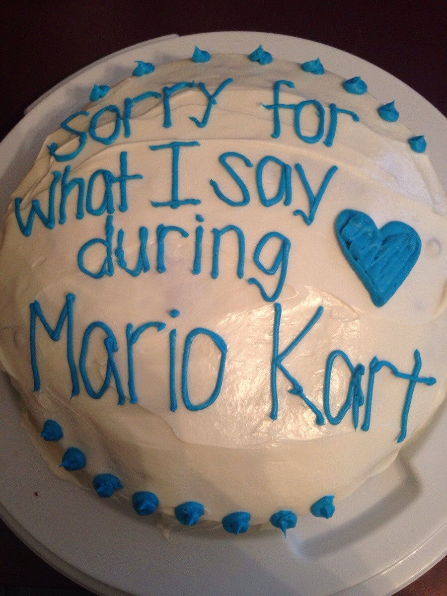 This sums up Mario Kart perfectly