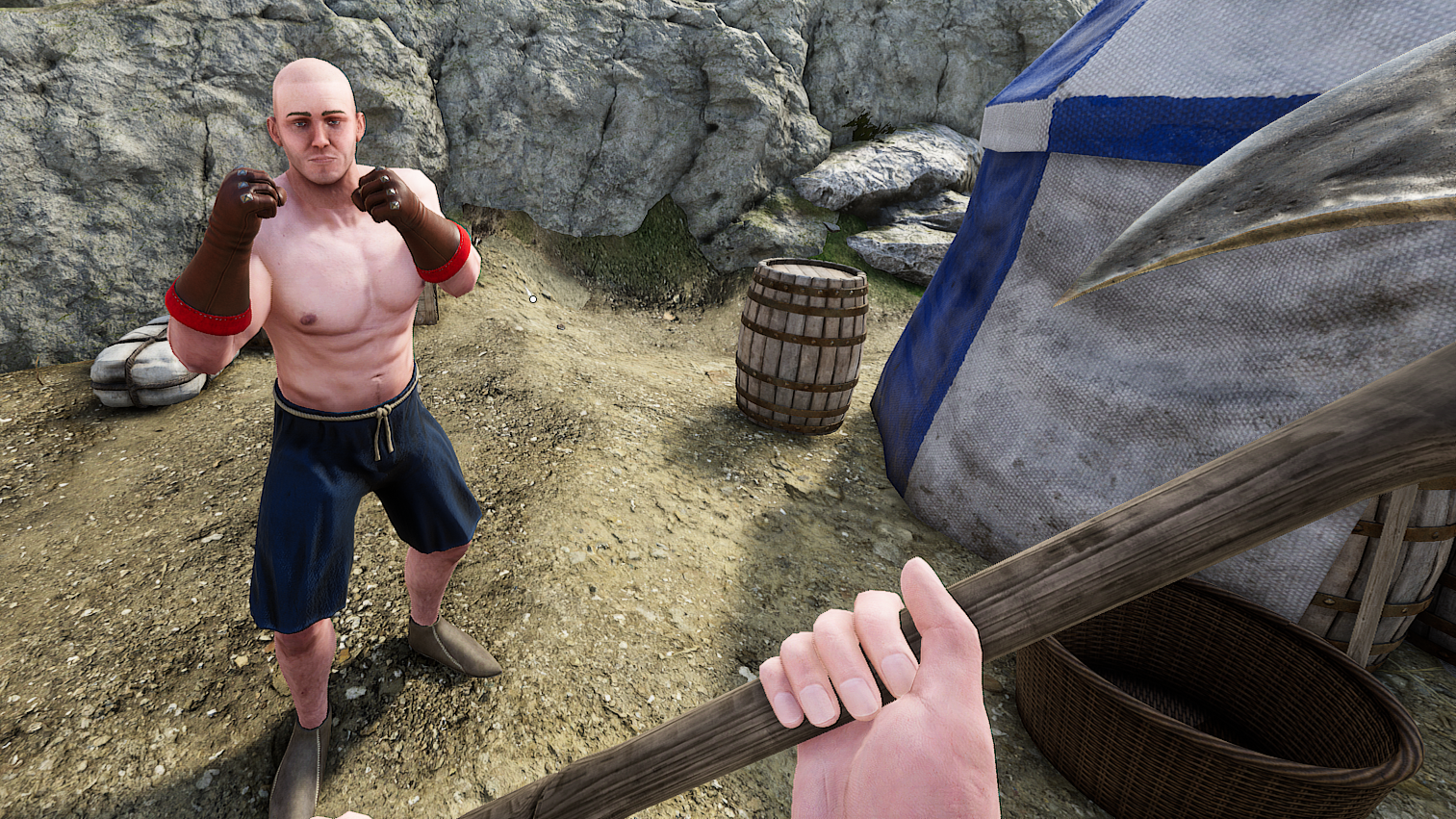 Mordhau Players Have A More Ridiculous Time By Ignoring All The Rules