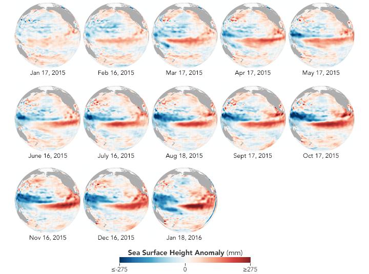 NASA Thinks We've Hit Peak El Niño
