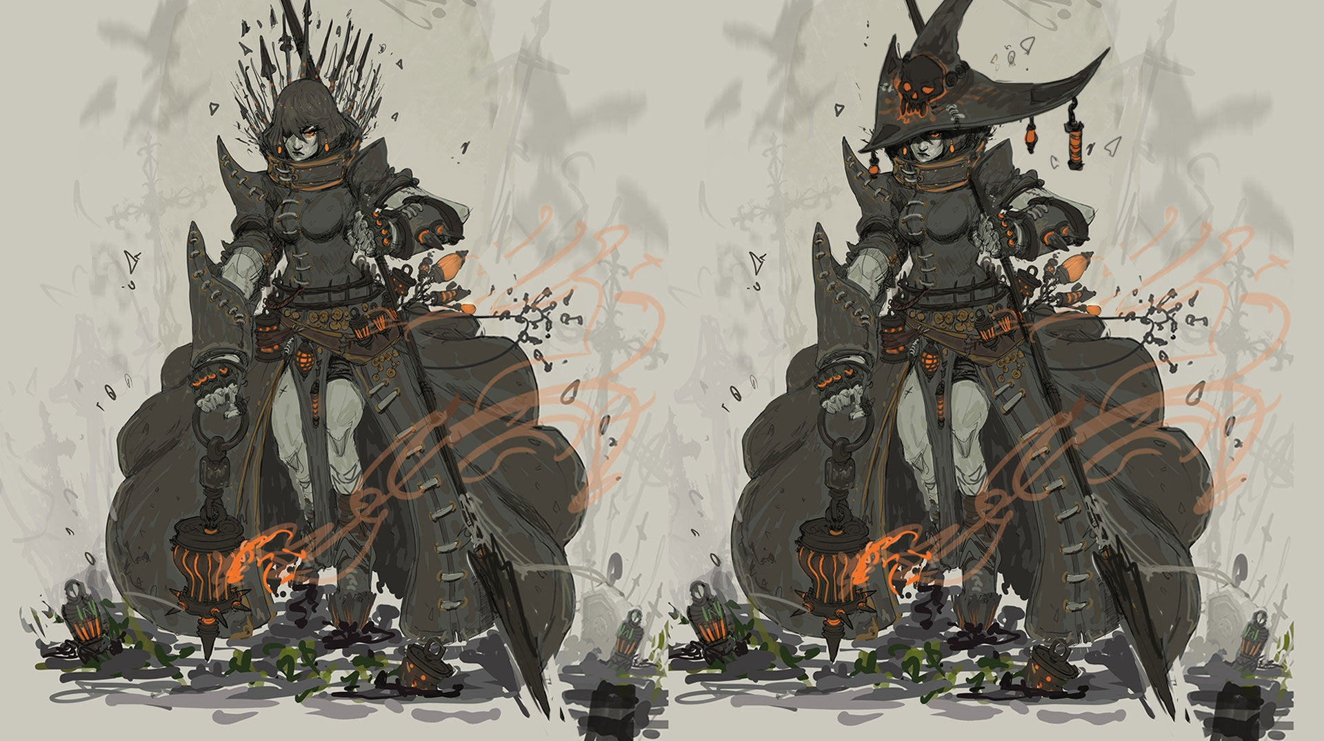 Fine Art: The Battle Witch