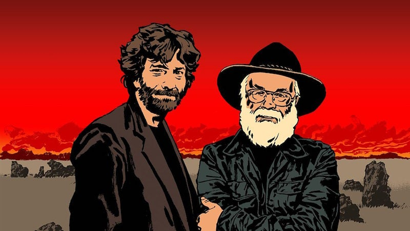 Neil Gaiman Is Writing a Six-Part Good Omens Miniseries
