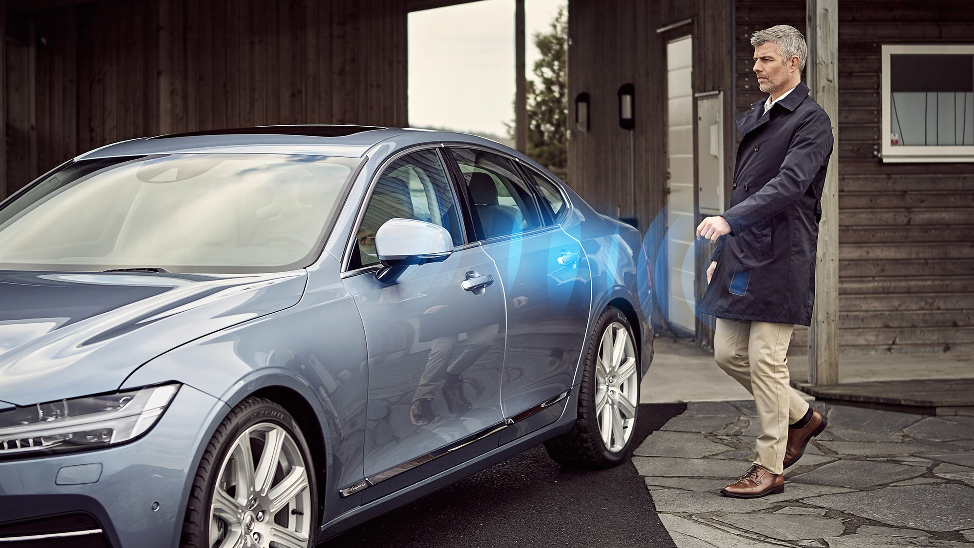 Volvo Brags About Making the First Car That Doesn't Need Keys