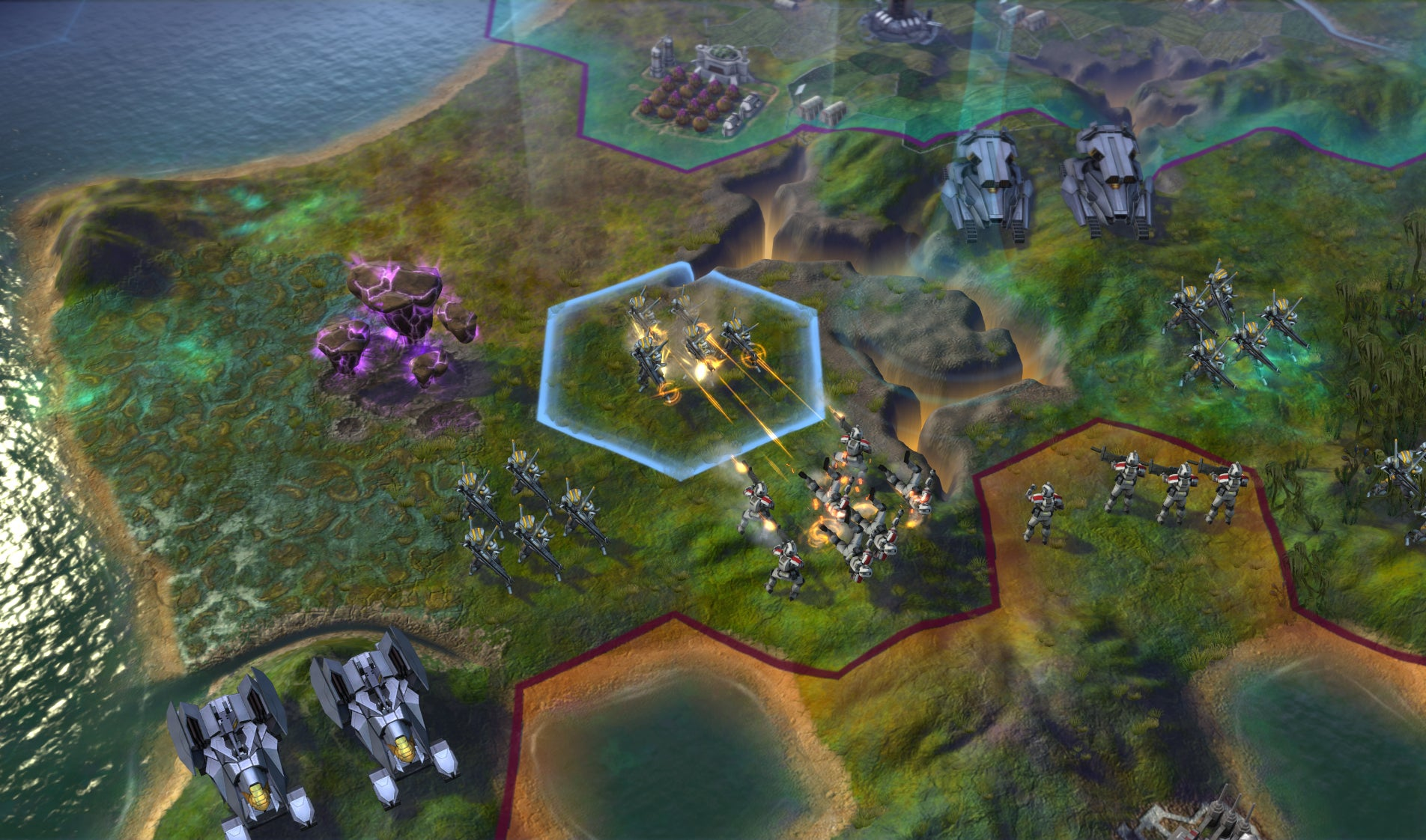 My First 40 Turns With Civilisation: Beyond Earth