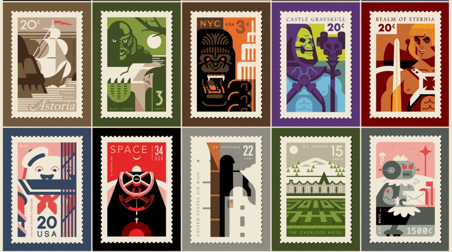 We're Kind Of Bummed These Aren't Actual Stamps