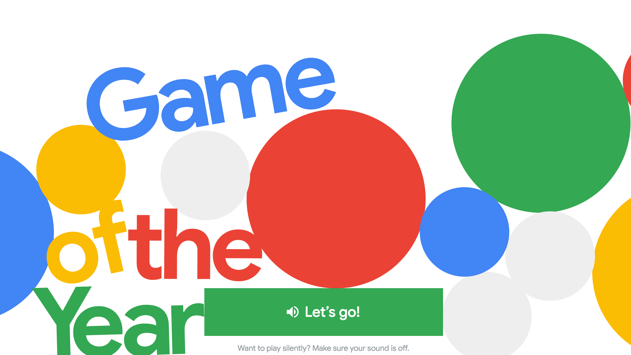 The 2018 Events I Completely Forgot About Until I Played Google's 'Game Of The Year'