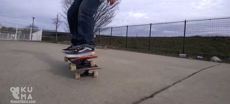 12-Year-Old's Skateboarding Skills Defy Reason