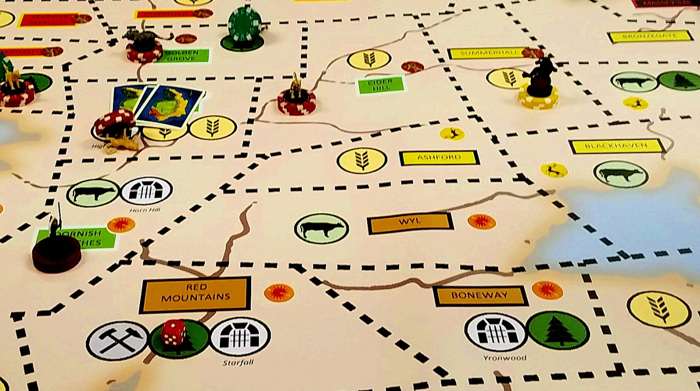 This Giant Fan-Made Tabletop Game Puts 33 Players In The Middle Of Aegon's Conquest