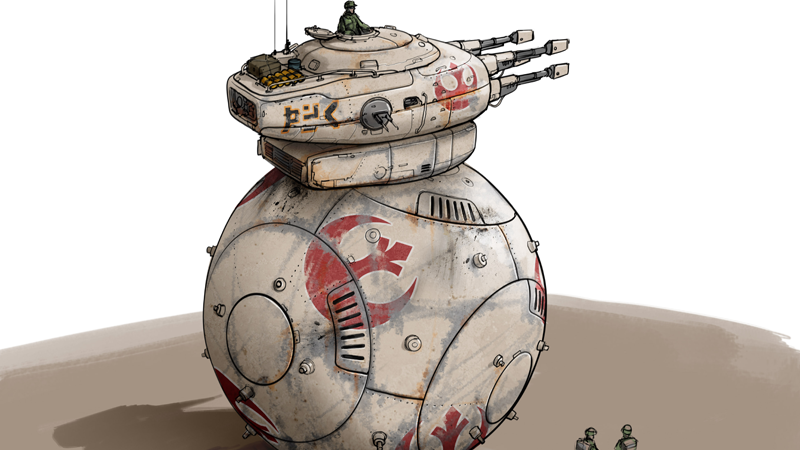 The Rise Of Skywalker Could've Given Us A Giant Tank Shaped Like BB-8