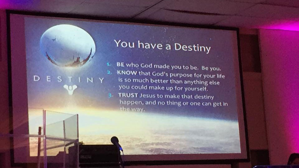 Destiny is Cool, But You Know What's Cooler? Jesus