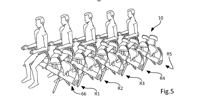 Airbus: Who Needs Real Seats When You Can Straddle Bike Saddles?