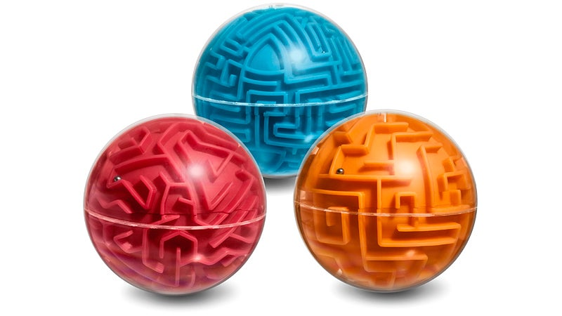Maze Balls Are the Perfect Shape To Throw Across the Room in Frustration