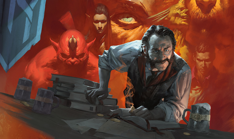 Stay With Me Here: Dungeons & Dragons, Except You Cook What You Kill