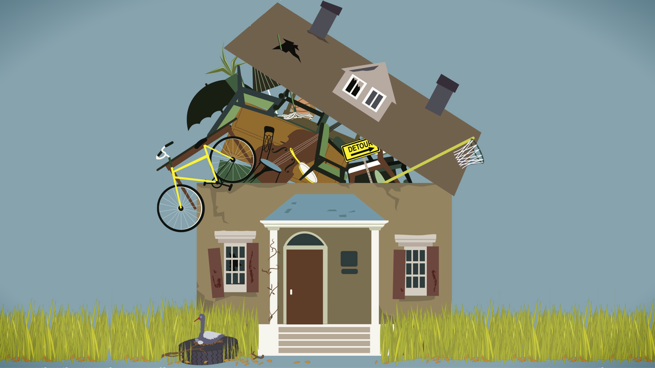 The Challenge Of Getting Rid Of Stuff