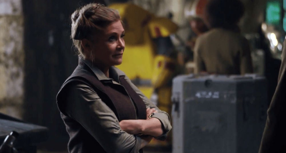 Star WarsEpisode IX Will Reportedly Feature Previously Shot Footage Of Carrie Fisher